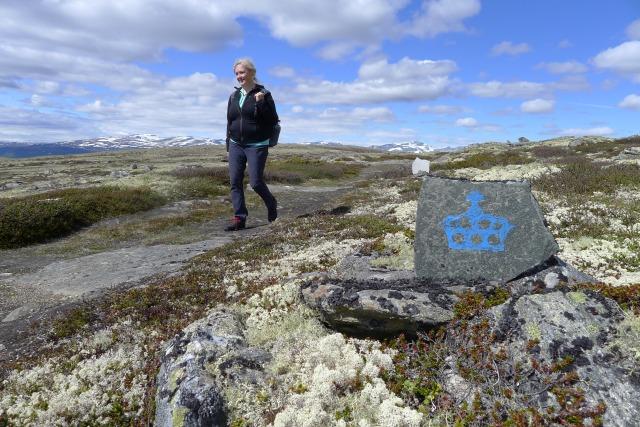Ann Kristin Engh på kongevegen Foto Marit Johansson